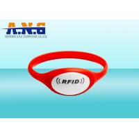 Buy cheap Waterproof lightweight Silicone Plastic Dial rfid bracelet for Football Ticket from wholesalers
