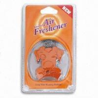 Buy cheap Vent/Hanging Air Freshener in Dog Design, Inside Flavor, Various Fragrances and Colors are Available from wholesalers