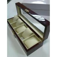 Buy cheap Wooden Watch collection boxes for 5pcs watch product