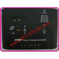 Buy cheap 10A solar charging controller, regulator 12V/24V automatic/intelligent for solar panel system, solar from wholesalers