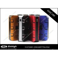 Buy cheap God 180w Box Mod Blue Aluminum Mechanical Mod E Cig God 180 mod with 510 thread from wholesalers