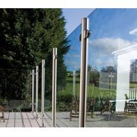 Buy cheap Australia Standard Deck Railing Glass Balusters Structural Glass Balustrade from wholesalers
