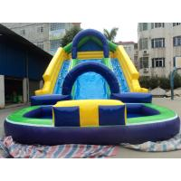 Buy cheap Interesting Customized Inflatable Products Outdoor Inflatable Water Slide For Kids from wholesalers