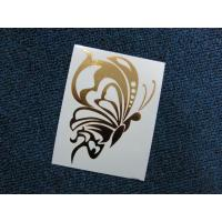 Buy cheap Temporary Pure Gold Butterfly Printing Tattoos product