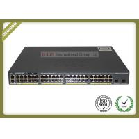 Buy cheap 48 Port 10gb Fiber Optic Media Converter POE Switch WS-C2960X-48LPD-L from wholesalers