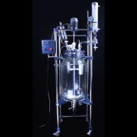Buy cheap S212-100L Lab Chemical Automatic Double Layer Glass Jacketed Reactor 100L from wholesalers
