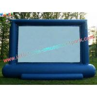 Buy cheap Professional Projection Inflatable Movie Home Theater Screens , Backyard Cinema from wholesalers