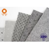 Buy cheap Grey White Needle Punched Non Woven Polyester Felt For Shoes Lining Fabric Material from wholesalers