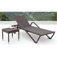 Buy cheap rattan chaise lounger furniture -4016 from wholesalers