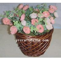 Buy cheap YRFB11004 willow basket,fruit basket,flower basket from wholesalers
