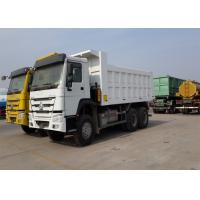 30T Heavy Dump Truck 15cbm Body Volume HW19710 Manual Transmission