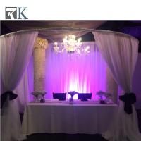Buy cheap stage backdrop stand pole black stage curtains wedding canopy from wholesalers