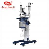 Buy cheap Zhengzhou Greatwall 10L/20L/50L elevating glass filter reactor from wholesalers
