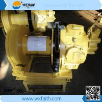 Buy cheap 2 Ton/2000kg Small Pneumatic Air Tugger Winch, with hand brake from wholesalers