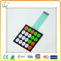 Buy cheap Flexible Membrane Switch Matrix sealed tact membrane switch manufacturer from wholesalers