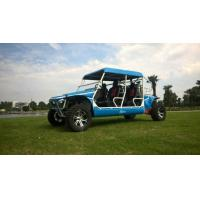 50kw 1100cc Gas Powered Utility Vehicles With 4 Seats Blue / Green