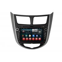 Buy cheap Hyundai Verna Accent Solaris Android DVD Player Central GPS Navigation BT TV from wholesalers