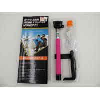Buy cheap Silicone Hand-Position of Bluetooth  Selfie Stick with Remote Button , Packaging Box Available product