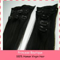 Buy cheap Cheap 100% Human Hair Clip In Hair Extension from wholesalers