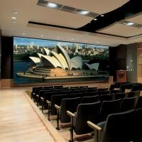 Buy cheap High Definition Motorised Projector Screen For Conference Rooms / Home Theater from wholesalers