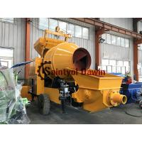 Buy cheap Full Diesel Power Concrete Mixer with Pump Concrete Mixing Pump on Sale with World Brand Engine Lovol 1004 from wholesalers