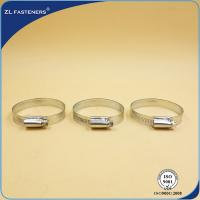 Buy cheap 9mm 12mm Stainless Steel Hose Clamps German Type GB / DIN Standard from wholesalers