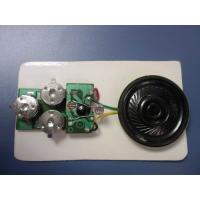 Buy cheap Vibration activated recording card Recordable Sound Module message saved on low power from wholesalers