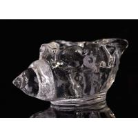 Buy cheap Decoration Clear Glass Tealight Holders Home Decor Creative Sea Snail Shape from wholesalers