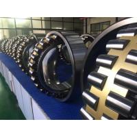 Buy cheap GCr15 Self Aligning Roller Bearing With Machined Brass Cage / Tapered Bore from wholesalers
