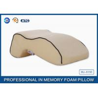 Buy cheap Office Massage Nap Memory Foam Sleep Pillow In Curved Bridge Design from wholesalers