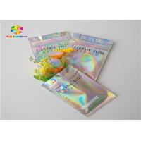 Buy cheap Exotic Carts One Gram Three Side Ziplock Packing Bags Gravure Printing With Hologram Effect from wholesalers