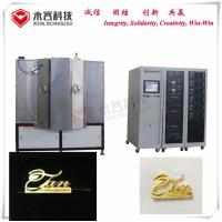 Buy cheap Magnetron Sputtering PVD Vacuum Coating Machine For Luxury Handbags Metal Accessories from wholesalers