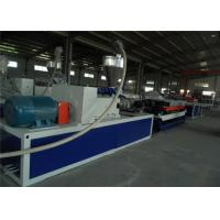 Buy cheap Single Wall Graden / Hose PE Corrugated Pipe Production Line Double Screw Extruder from wholesalers