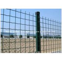 Buy cheap Holland Green Wire Mesh Panels Individually Plated For Terminal Security from wholesalers