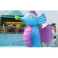Buy cheap Fiberglass water fountain with Galvanized Carbon Steel Frame of amusement park equipment from wholesalers