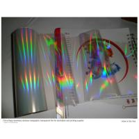 Buy cheap holographic  transparent hot stamping foil from wholesalers
