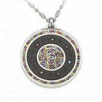 Buy cheap CZ Stainless Steel Quantum Pendant with Scalar Energy, Italy Style product