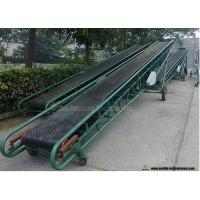 Buy cheap Mobile Portable Grain Loading Container Belt Conveyor For Grain Carbon Steel Frame from wholesalers