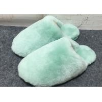 China 100% Handmade Durable Sheep Wool Slippers Soft Dyed Colors For Toddler / Adults on sale