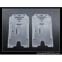 Buy cheap Double bank cards holder classic China factory direct offer clear hard badge stock holders from wholesalers