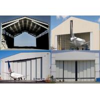 Buy cheap Single Span Steel Structure Aircraft Hangar Buildings With Wall / Roof Panel from wholesalers