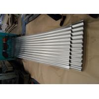 Buy cheap Galvanized Corrugated Roofing Metal Sheets For Wall , White Blue Red from wholesalers
