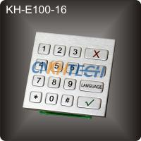 Buy cheap Self-service terminal machine keypad from wholesalers