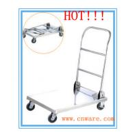 Buy cheap stainless steel platform handcart from wholesalers