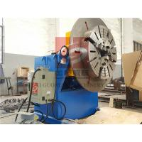 Buy cheap 600KG Rotary Welding Positioner with Quick Chuck / Clamper ,  Rotary Positioners from wholesalers