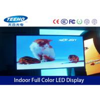 Buy cheap Custom Large Full Color Indoor Advertising LED Display Screen PH 6mm , 1R1G1B / SMD3528 from wholesalers