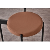 Buy cheap Modern Luxury Restaurant Metal Dining Chair from wholesalers