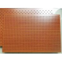 Buy cheap Fireproof Wooden Acoustic Perforated MDF Panels For Wall And Ceiling from wholesalers