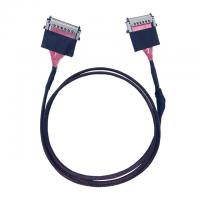 Buy cheap JAE 51 Pin LVDS Micro Coax Cable Assemblies FI-RE51HL FI-RE51CL UL1354 42AWG from wholesalers