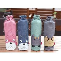 Buy cheap 2019 Hot-Selling BPA FREE Collapsible cute cartoon sleeve water bottles bags from wholesalers